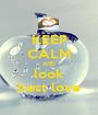 KEEP CALM AND look best love - Personalised Poster A1 size