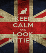 KEEP CALM AND LOOK KITTIES!!! - Personalised Poster A1 size