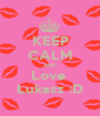 KEEP CALM AND Love  Łukasz :D - Personalised Poster A1 size