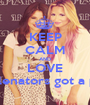 KEEP CALM AND LOVE ღ We are selenators got a problem ? ∞ - Personalised Poster A1 size