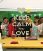 KEEP CALM AND LOVE  1 i - Personalised Poster A1 size