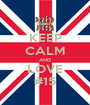 KEEP CALM AND LOVE #15 - Personalised Poster A1 size