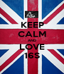 KEEP CALM AND LOVE 16∞ - Personalised Poster A1 size