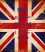 KEEP CALM AND LOVE 1D♥ - Personalised Poster A1 size