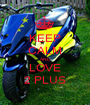 KEEP CALM AND LOVE 2 PLUS - Personalised Poster A1 size