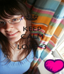 KEEP CALM AND LOVE<3  - Personalised Poster A1 size