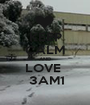 KEEP CALM AND LOVE   3AM1 - Personalised Poster A1 size