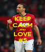 KEEP CALM AND LOVE #5 - Personalised Poster A1 size