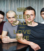 KEEP CALM AND LOVE 5IVE - Personalised Poster A1 size