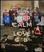 "KEEP CALM AND LOVE 6 ""B"" - Personalised Poster A1 size"