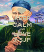 KEEP CALM AND LOVE 7-SJF - Personalised Poster A1 size