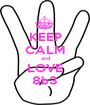 KEEP CALM and LOVE 8b3 - Personalised Poster A1 size