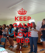 KEEP CALM AND LOVE 9EG - Personalised Poster A1 size