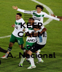 KEEP CALM AND Love A. Nacional - Personalised Poster A1 size
