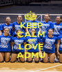 KEEP CALM AND LOVE ADMU - Personalised Poster A1 size
