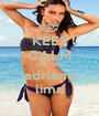 KEEP CALM AND love adriana lima - Personalised Poster A1 size