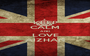 KEEP CALM AND LOVE AIZHAN - Personalised Poster A1 size
