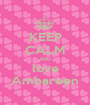 KEEP CALM AND love Ambareen - Personalised Poster A1 size