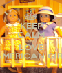 KEEP CALM and LOVE AMERICAN GIRL - Personalised Poster A1 size