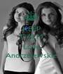 KEEP CALM AND Love Andrzejewskie - Personalised Poster A1 size