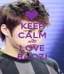 KEEP CALM AND LOVE BAOZI - Personalised Poster A1 size