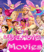 KEEP CALM AND LOVE BARBIE MOVIES - Personalised Poster A1 size
