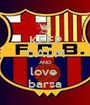 KEEP CALM AND love  barsa - Personalised Poster A1 size