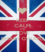 KEEP CALM AND LOVE BHABY GWAPO - Personalised Poster A1 size