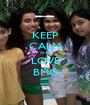 KEEP CALM AND LOVE BMG - Personalised Poster A1 size