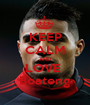 KEEP CALM AND LOVE  Boateng - Personalised Poster A1 size