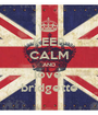 KEEP CALM AND love  bridgette - Personalised Poster A1 size