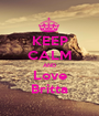 KEEP CALM AND Love Britta - Personalised Poster A1 size