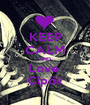KEEP CALM AND Love  Cipők - Personalised Poster A1 size