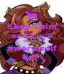 Keep Calm and Love Clawdeen #werewolf #mh - Personalised Poster A1 size