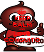 KEEP CALM AND LOVE CONGUITO - Personalised Poster A1 size