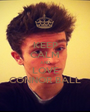 KEEP CALM AND LOVE CONNOR BALL - Personalised Poster A1 size
