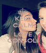KEEP CALM AND LOVE CONSOLI - Personalised Poster A1 size