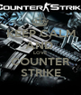 KEEP CALM AND  LOVE COUNTER STRIKE - Personalised Poster A1 size