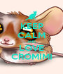 KEEP CALM AND LOVE CROMIMI - Personalised Poster A1 size