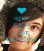 KEEP CALM AND LOVE Dan Howell - Personalised Poster A1 size