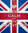 KEEP CALM AND  LOVE  DAUNTLESS - Personalised Poster A1 size