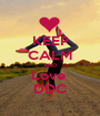 KEEP CALM AND Love  DDC - Personalised Poster A1 size