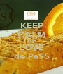 KEEP CALM AND LOVE de PaSS - Personalised Poster A1 size