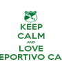 KEEP CALM AND LOVE DEPORTIVO CALI - Personalised Poster A1 size