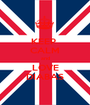 KEEP  CALM and LOVE DIABAS - Personalised Poster A1 size