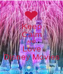 Keep Calm AND Love Disney Movies - Personalised Poster A1 size