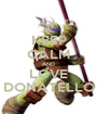 KEEP CALM AND LOVE DONATELLO - Personalised Poster A1 size