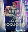 KEEP CALM AND LOVE DOOJOON - Personalised Poster A1 size