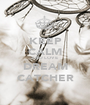 KEEP CALM AND LOVE  DREAM CATCHER - Personalised Poster A1 size