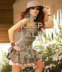 KEEP CALM AND LOVE Dulce María - Personalised Poster A1 size